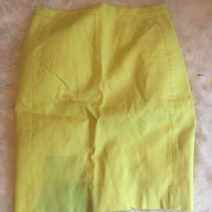 J. Crew Petite No. 2 Pencil Skirt in Cotton Twill